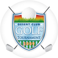 Desert Club Golf Tournament logo