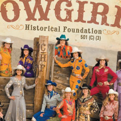 Cowgirls Historical Foundation brochure