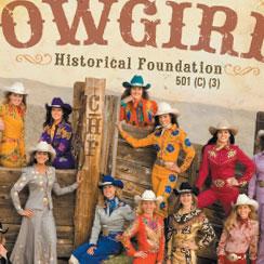 Cowgirls Historical Foundation brochure