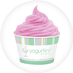 Yogurtini Frozen Yogurt