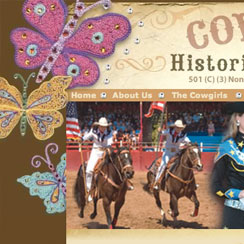 Cowgirls Historical Foundation Website