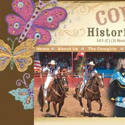 Cowgirls Historical Foundation Website