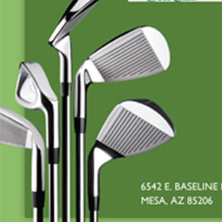 Alex Black Golf Instruction Brochure