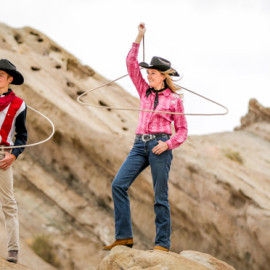 Trick Roping at Vasquez Rocks